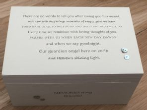 Personalised LARGE Box In Memory Of A Loved One GRANDAD Or Any Name Shabby Chic - 332573282990